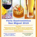 """Tazacorte acoge un encuentro enogastronómico  """"San Miguel 2019"""""""