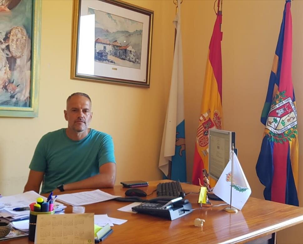 Roberto Pérez edil de deportes nos pone al día con el Acuatlón de Tazacorte