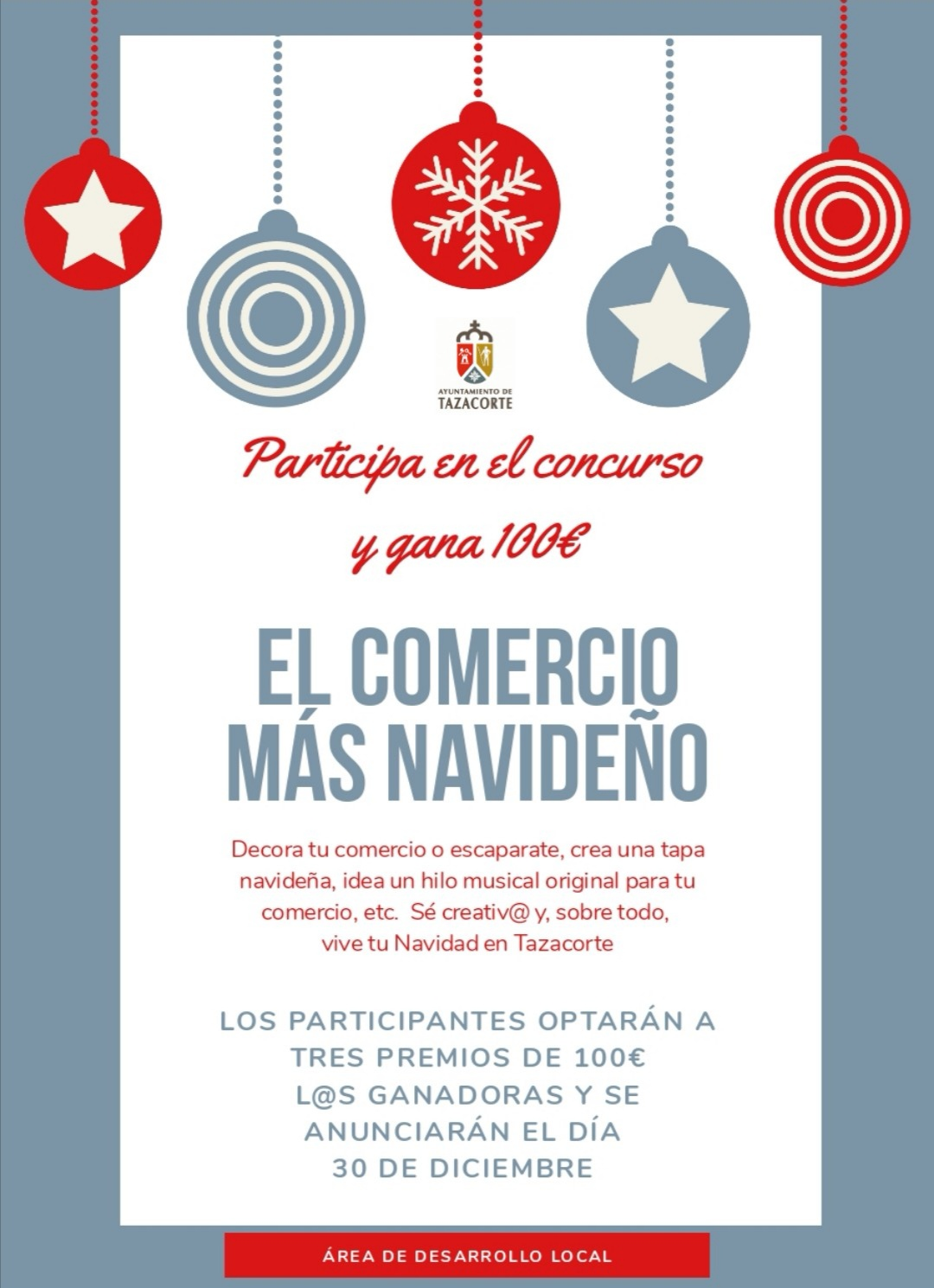 """Concurso """"El comercio más navideño"""""""