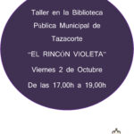 "TALLER ""EL RINCÓN VIOLETA"""