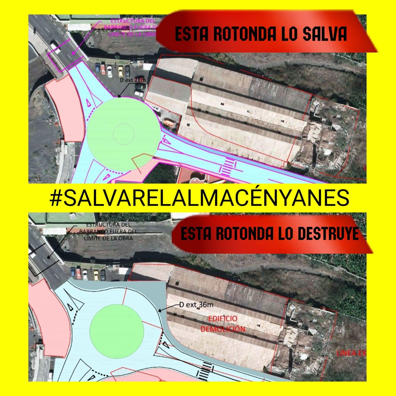 Recogida de firmas para la paralización de demolición del almacén de Yanes en el puerto de Tazacorte