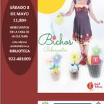 """Bebecuentos """"Bichos"""" por Isabel Bolivar en la casa de la cultura"""