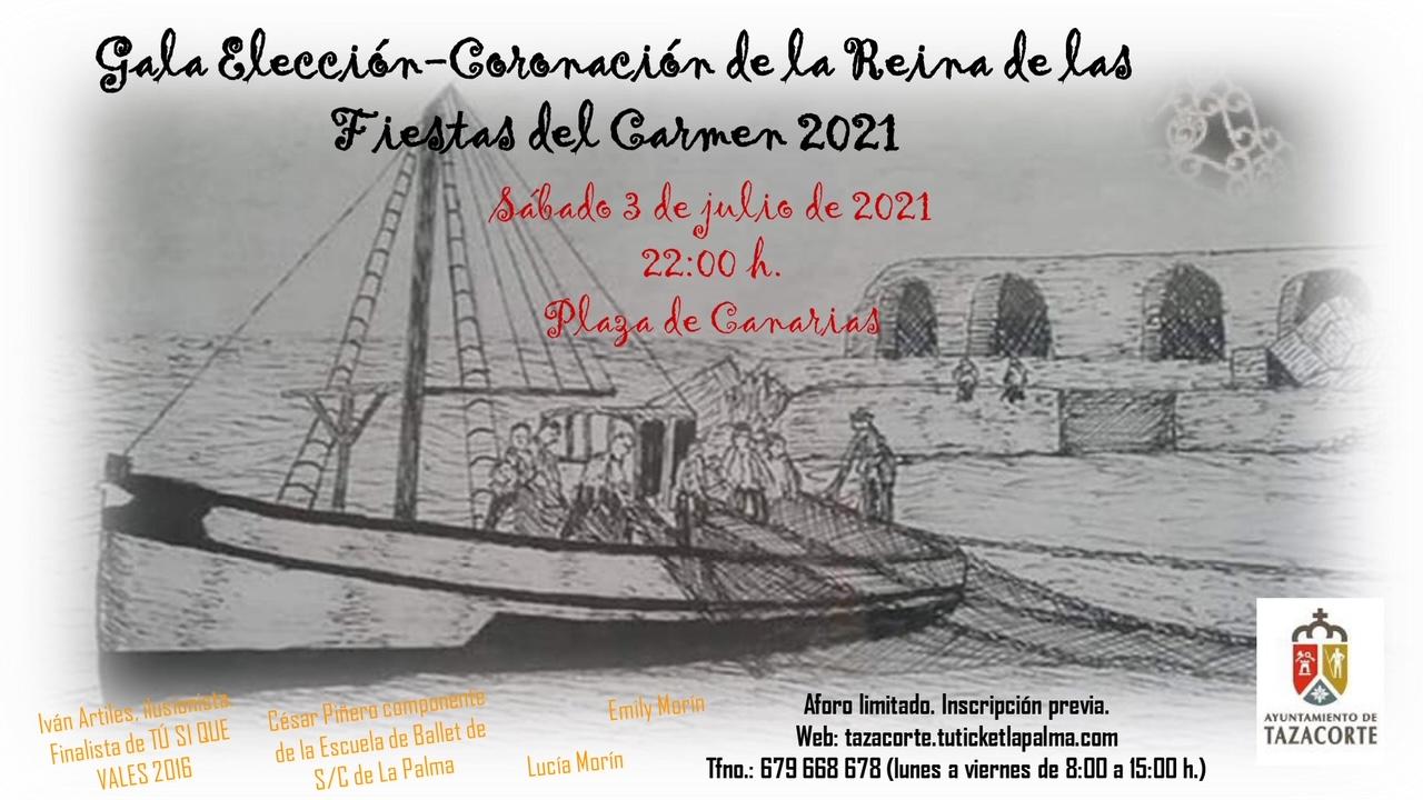 FIESTAS DEL CARMEN 2021 - CORONACIÓN DE LA REINA