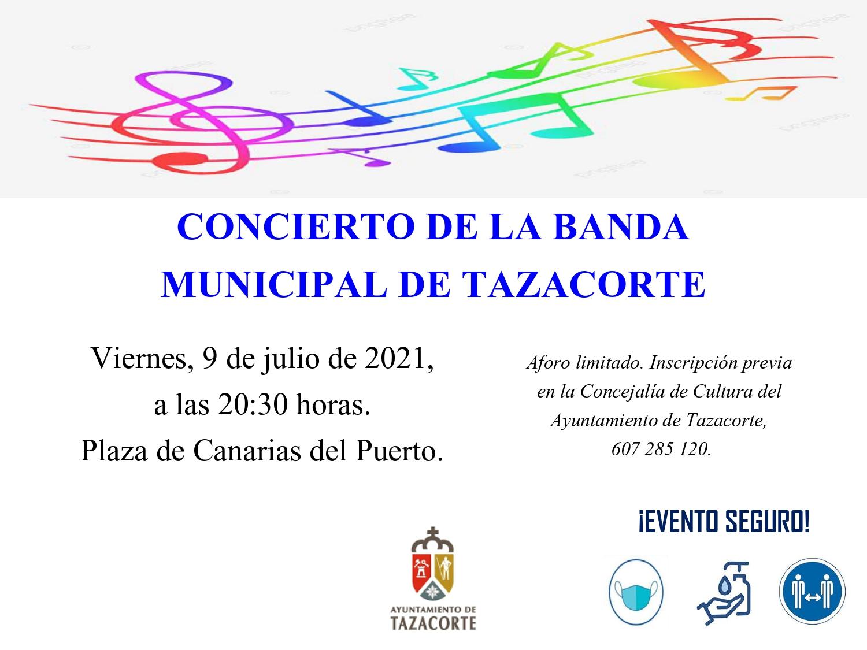 CONCIERTO DE LA BANDA MUNICIPAL
